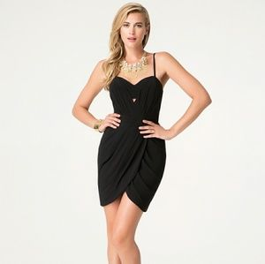 Bebe Selin Bralette Tulip Dress